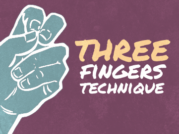 three-fingers-technique