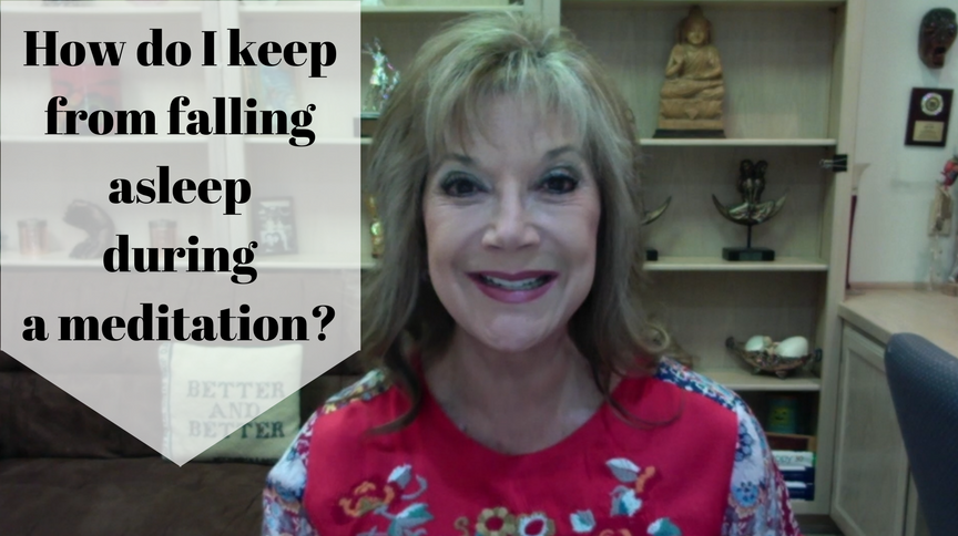 Laura Silva Quesada answers: How do I keep from falling asleep during a meditation?